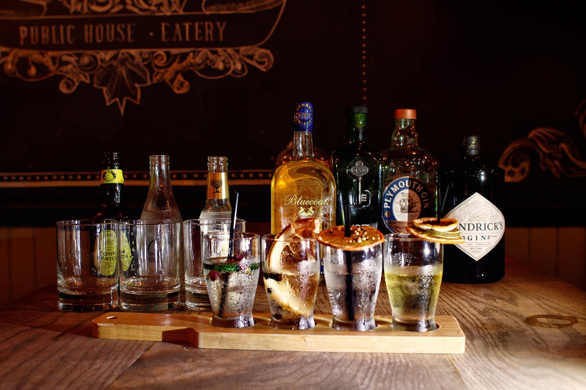 Gin Flight NYC Gin Bar